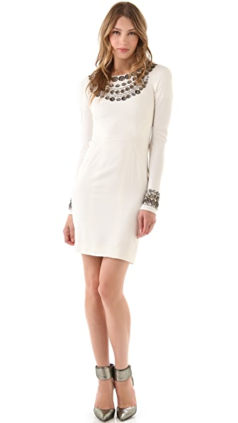 Temperley London Open Back Eve Dress