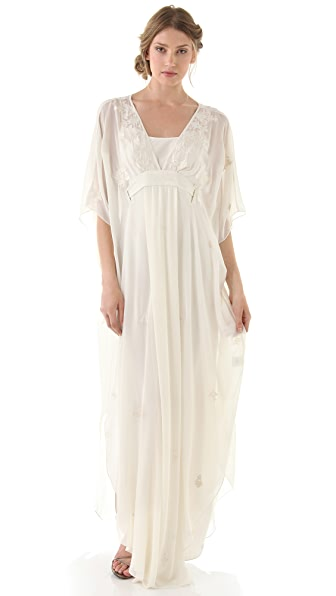Temperley London Long Evita Caftan Dress