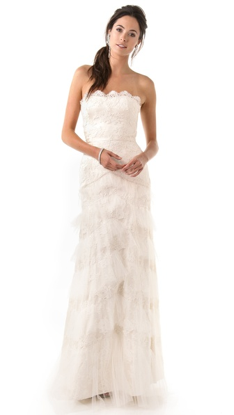 Temperley London Long Dove Bridal Dress