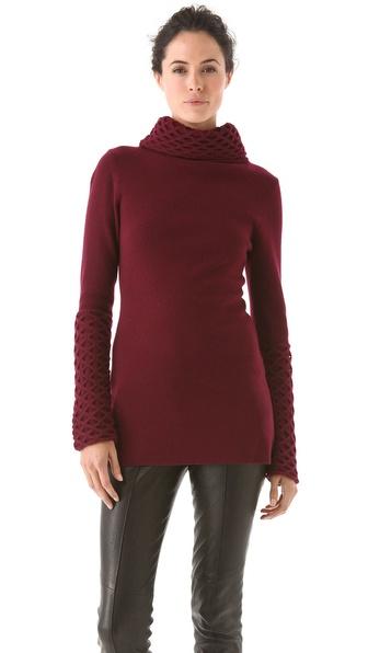 Temperley London Honeycomb Tunic Sweater