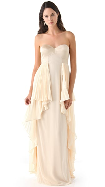Temperley London Serena Strapless Gown
