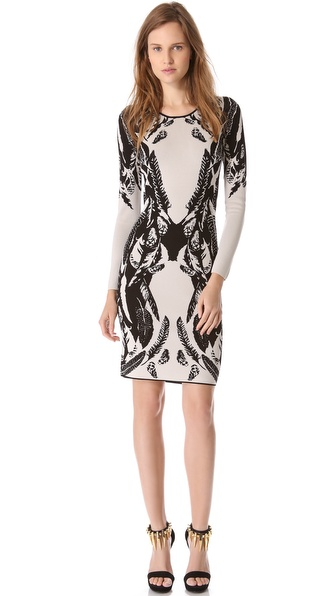 Temperley London Plume Jacquard Dress