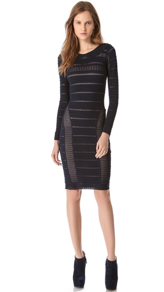 Temperley London Adora Knit Pencil Dress