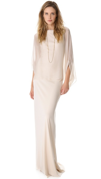 Temperley London Long Isodora Jersey Dress