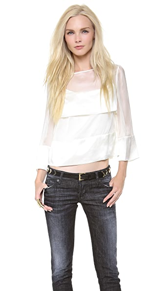 Temperley London Nile Trapeze Top