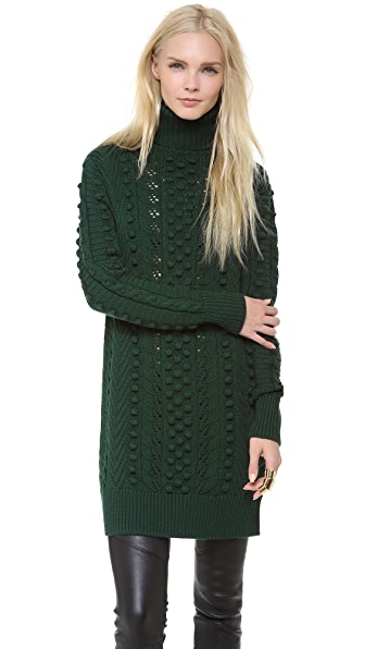 Temperley London Falcon Cable Knit Tunic