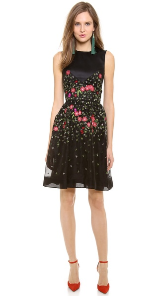 Temperley London Primrose Flared Dress