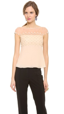 Temperley London Forget Me Not Top