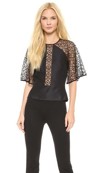 Temperley London Folk Lace Shirt