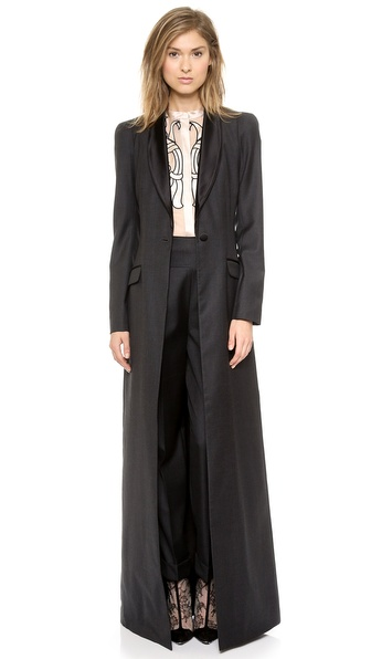 Temperley London Long Coruna Coat