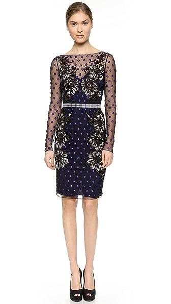 Kupi Temperley London haljinu online i raspordaja za kupiti Temperley London Josette Dress Black Mix online