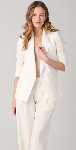 Tess Giberson Blazer with Split Back