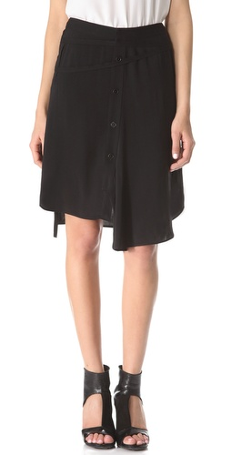 Tess Giberson Shirting Skirt