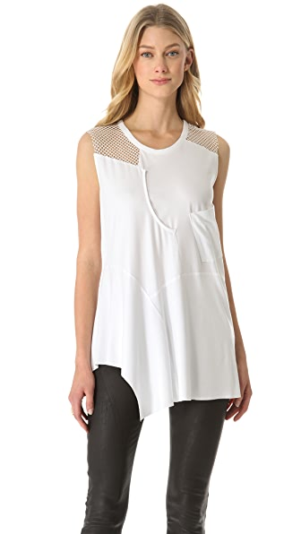Tess Giberson Reassembled Sleeveless Top