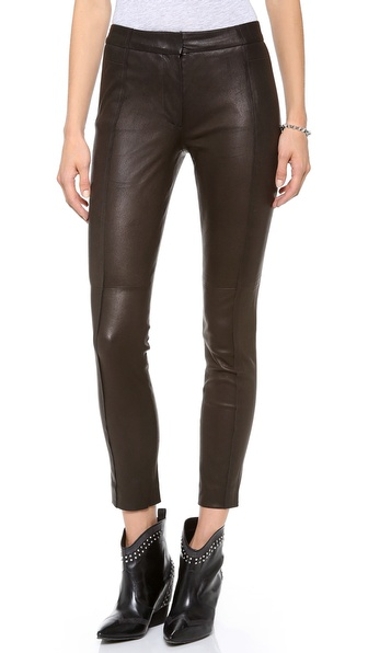 Tess Giberson Split Leather Leggings