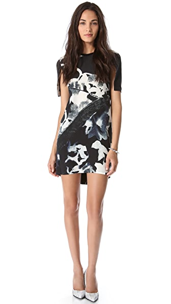 Tess Giberson T-Shirt Cape Dress