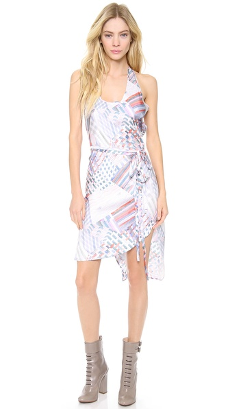 Tess Giberson Tank Dress with Ties