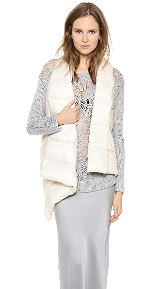 Tess Giberson Quilted Scarf Vest