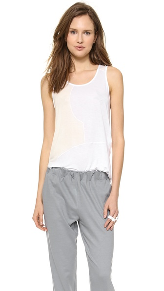 Tess Giberson Remixed Tank - White