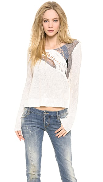 Tess Giberson Crochet Sweater