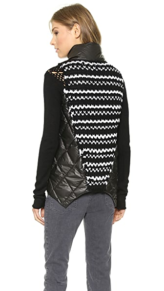 Tess Giberson Abstract Down Vest