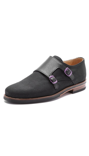 The Generic Man Monkman Double Strap Oxfords
