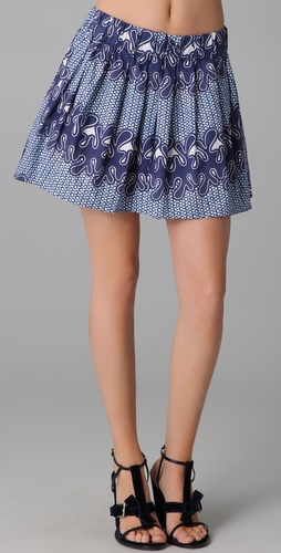 Thakoon Addition Pleated Skirt