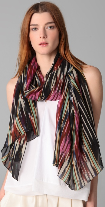 Thakoon Addition Ikat Scarf