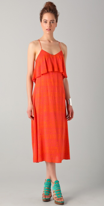 Thakoon Addition Layered Slip Dress