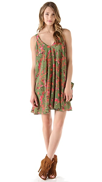 Thakoon Addition Flower Camo Romper