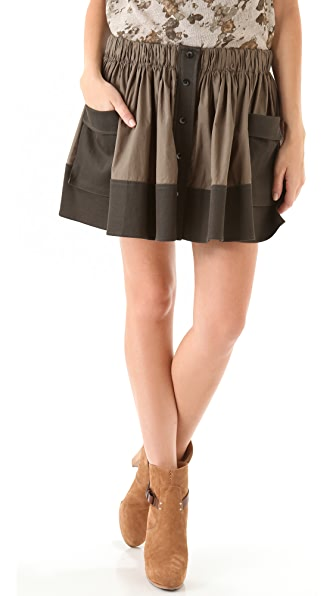 Thakoon Addition Utility Pocket Skirt