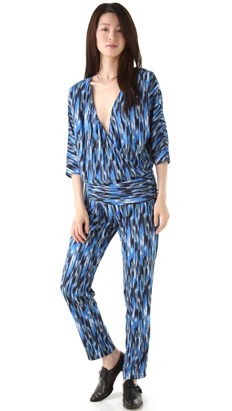 Thakoon Addition Wraparound Hip Jumpsuit