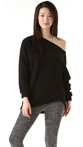 Thakoon Addition Draped Sweater