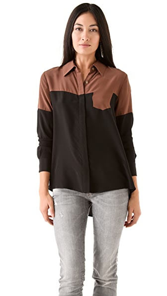 Thakoon Addition Hidden Pocket Blouse