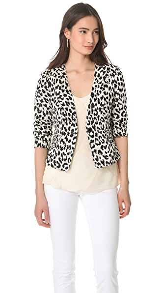 Thakoon Addition Angry Leopard Blazer