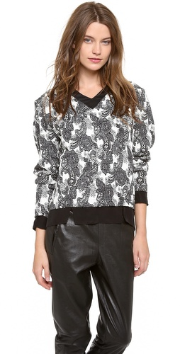 Thakoon Addition Long Sleeve Pullover at Shopbop / East Dane
