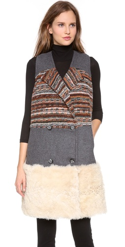 Thakoon Addition Double Breasted Combo Vest at Shopbop / East Dane