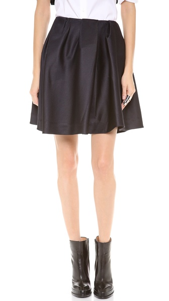 Thakoon Addition Front Gathered Full Skirt - Black at Shopbop / East Dane