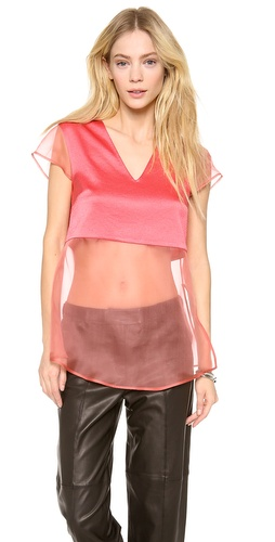 Thakoon Addition Layer Organza Top at Shopbop / East Dane