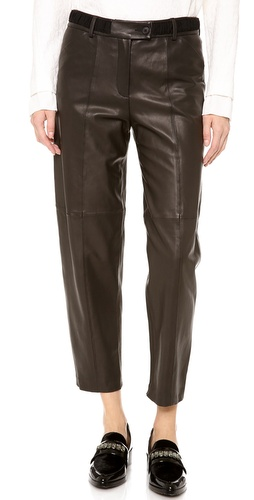 Thakoon Addition Full Leather Pants at Shopbop / East Dane