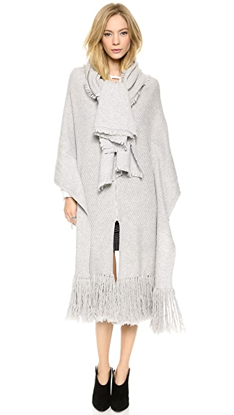 Thakoon Addition Zip Front Poncho