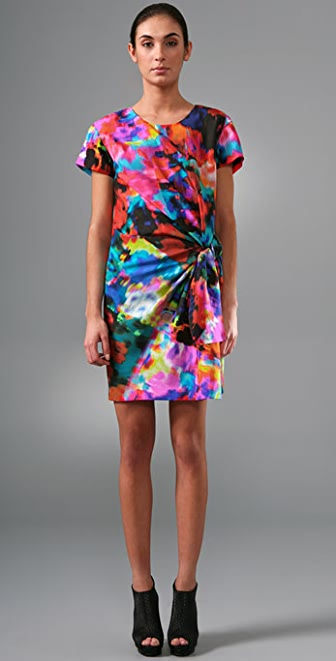 Thakoon Knotted T Shirt Dress