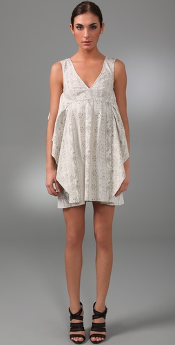 Thakoon Ruffled Panel Dress