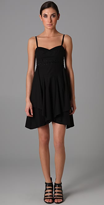 Thakoon Lace Bodice Dress