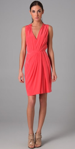 Thakoon Plunge Front Dress
