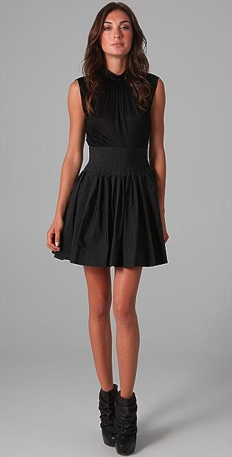 Thakoon Sleeveless Cinched Waist Dress
