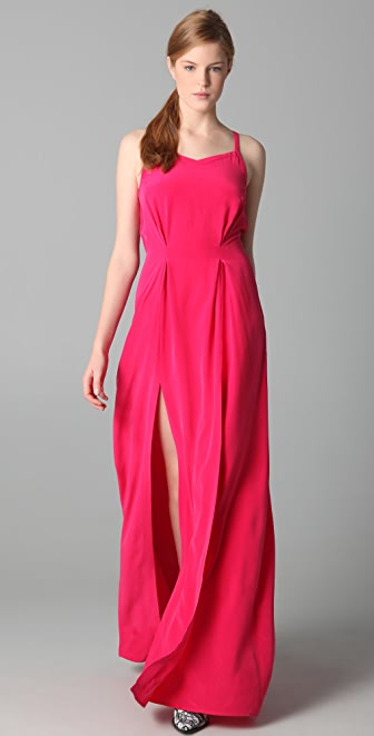 Thakoon Gathered Waist Gown