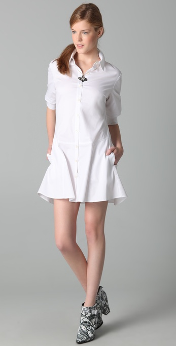 Thakoon Poplin Shirtdress