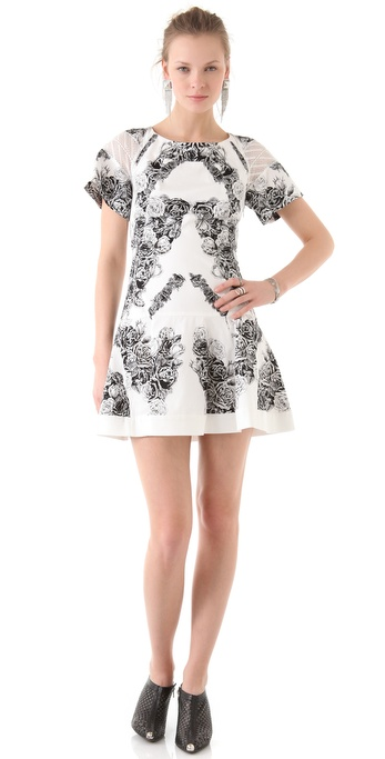 Thakoon Panel T-Shirt Dress