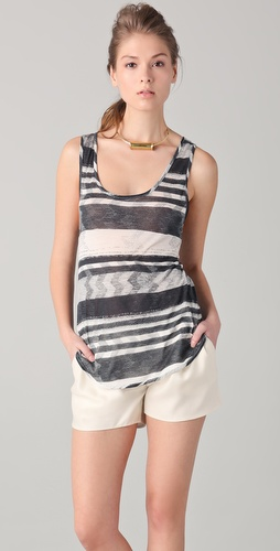 Thakoon Striped Tank